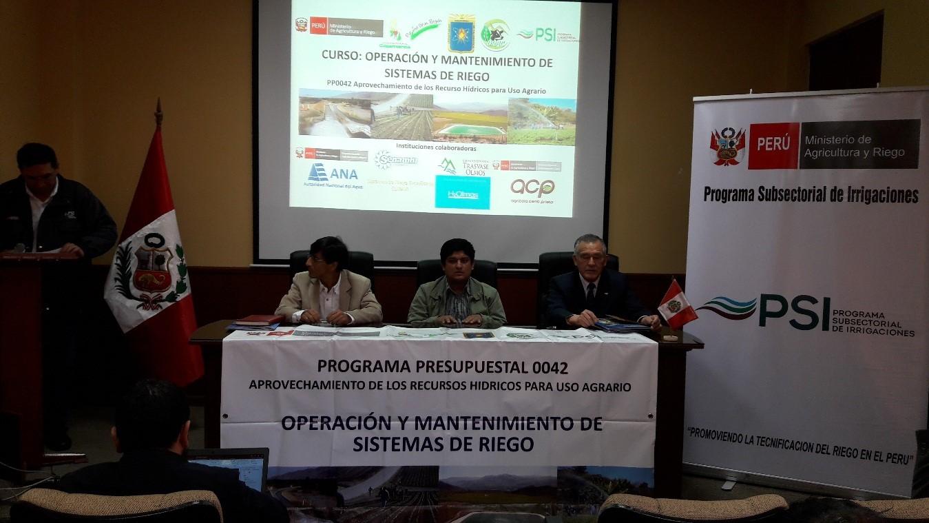 Inauguracion del curso operaci n y mantenimiento de for Oficina ing malaga